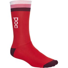 POC Essential Mid Length Socks Men prismane multi red